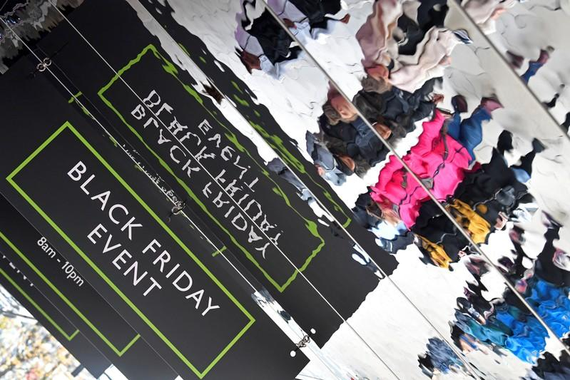 UK Black Friday sales down year-on-year, data shows