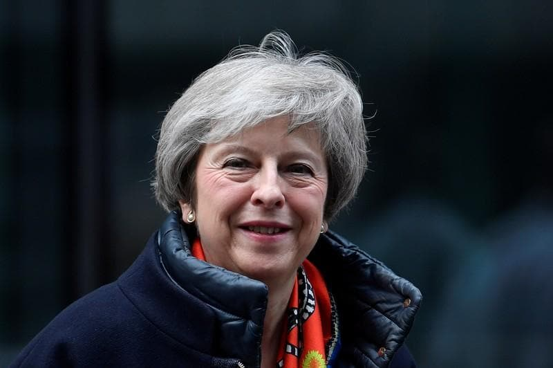 PM May says UK will always stand by Gibraltar