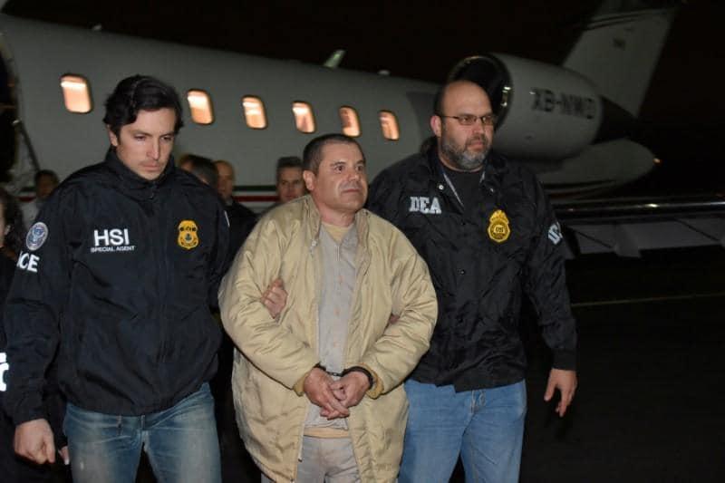 U.S. prosecutors claim 'El Chapo' had unauthorized contact with wife