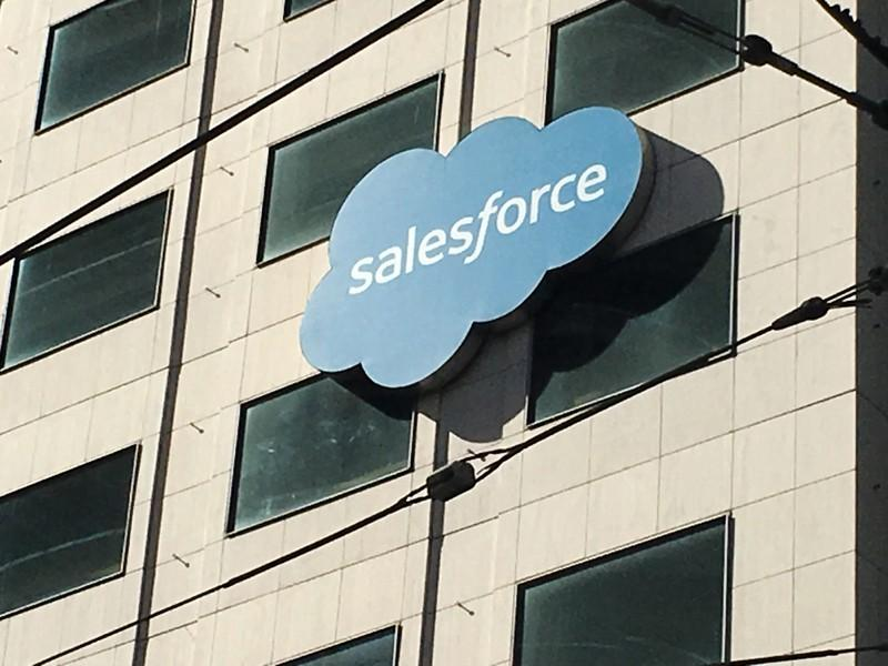 Cloud software stocks rise after upbeat Salesforce results