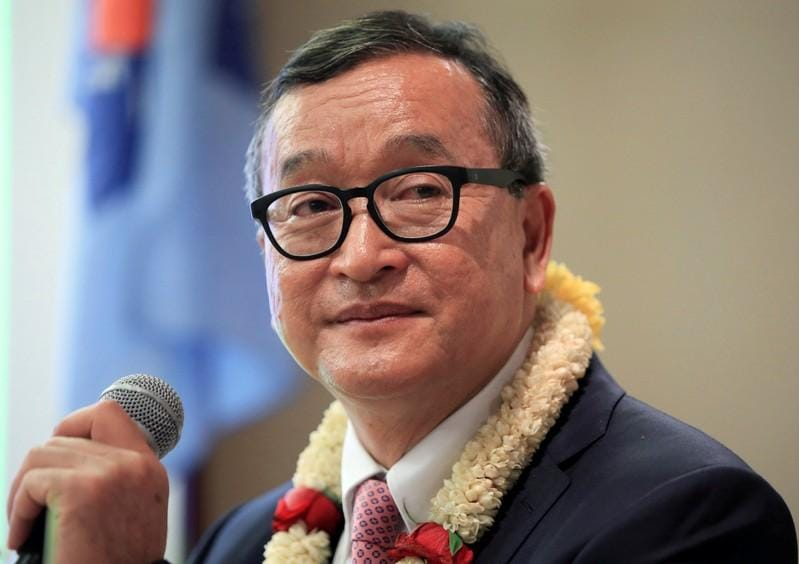 Thai PM says Cambodias Sam Rainsy unlikely to be allowed in