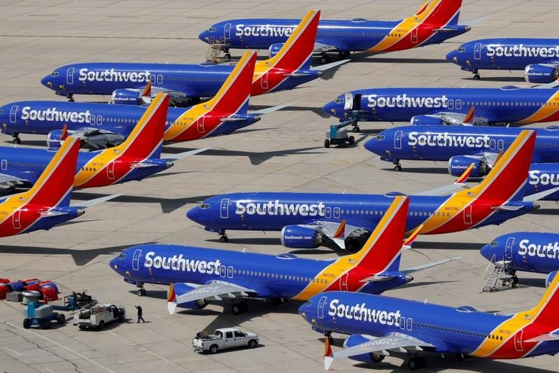 Southwest pulls Boeing Max jets until March nearly a year after grounding