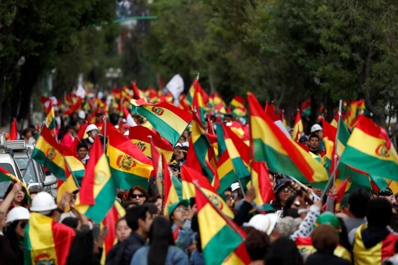 Bolivia is shattered Election crisis leaves deeply divided nation