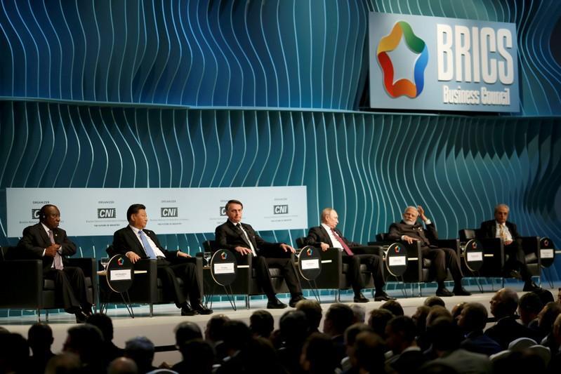 BRICS leaders rail against 'bullying' protectionism