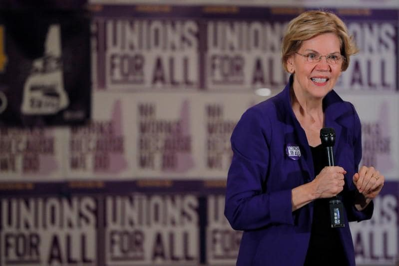 Warren lashes out at Goldman over Apple Card bias claims  Bloomberg