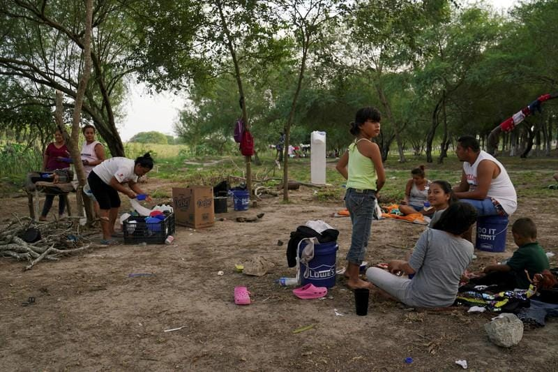 Some migrants waiting in Mexico for US court hearings caught crossing illegally