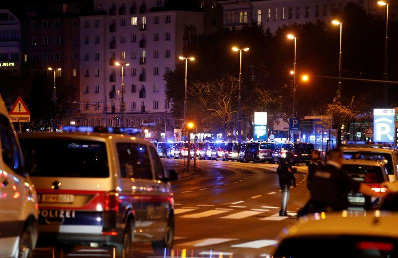 One person killed in Vienna shooting ambulance service says