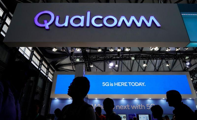 Qualcomm forecasts strong first quarter as Apple ramps up 5G iPhone models