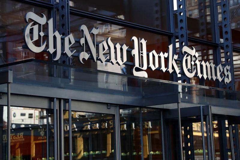 New York Times warns of easing growth after news storm boosts results
