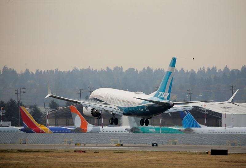 Boeing loses more 737 MAX orders eyes jets US return but Europe tariffs loom