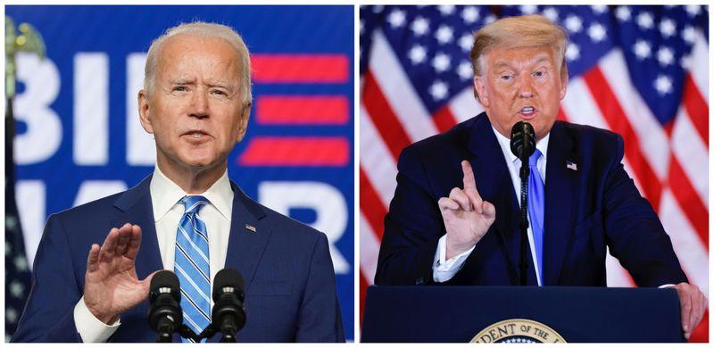 Nearly 80 of Americans say Biden won White House ignoring Trumps refusal to concede ReutersIpsos poll