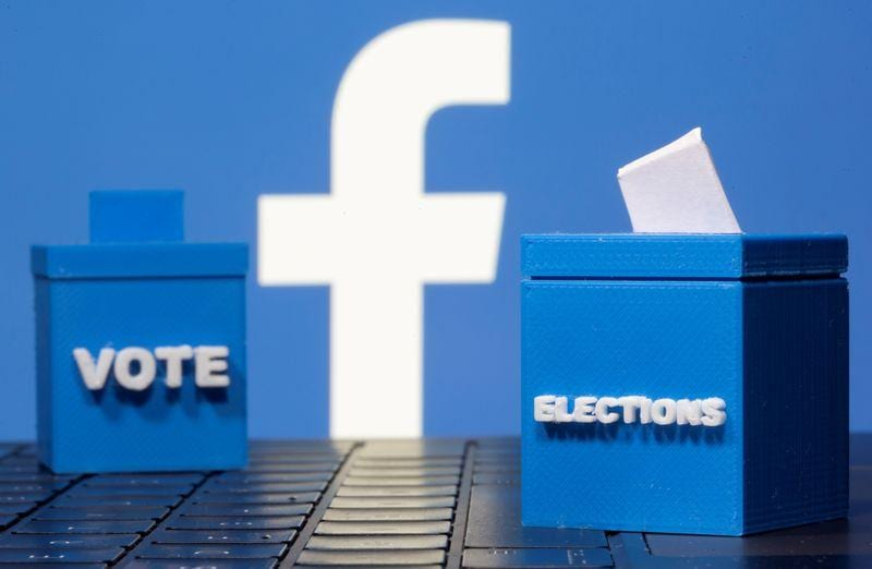 Facebook, swamped with misinformation, extends post-election U.S. political ad ban