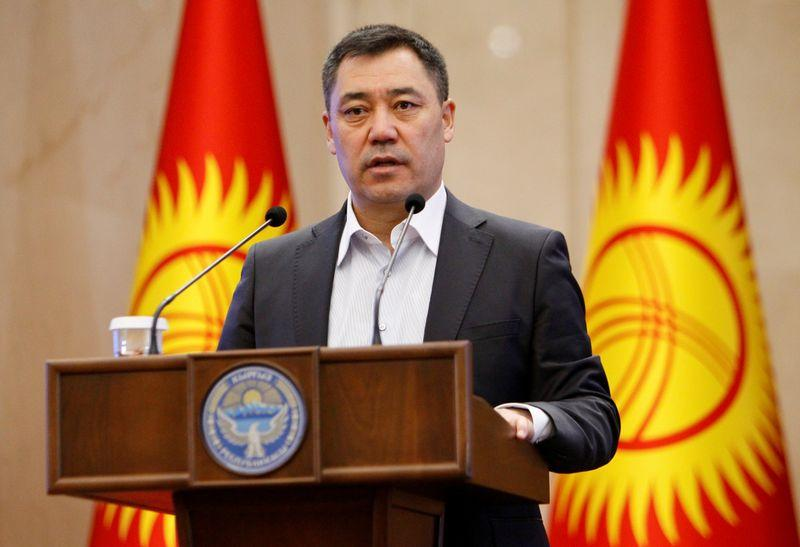 Kyrgyz PM steps down as acting president to run in election
