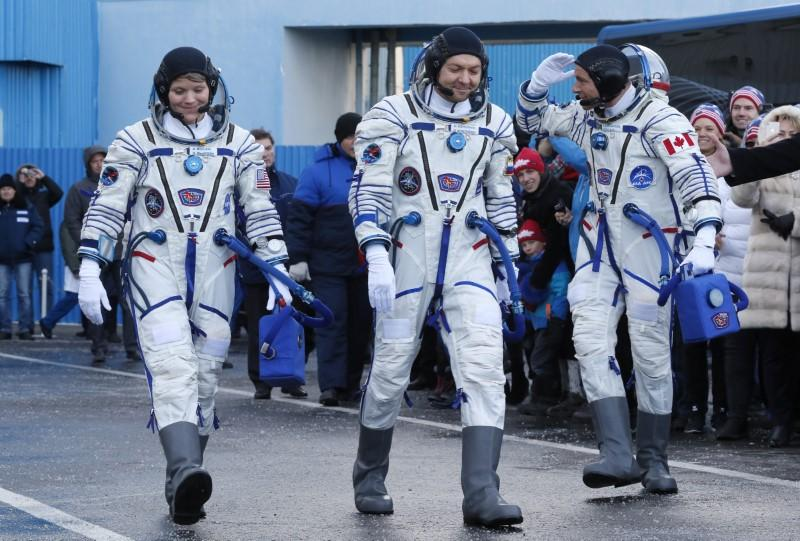 Soyuz Rocket Successfully Docks at ISS, Met by Jubilant Astronauts