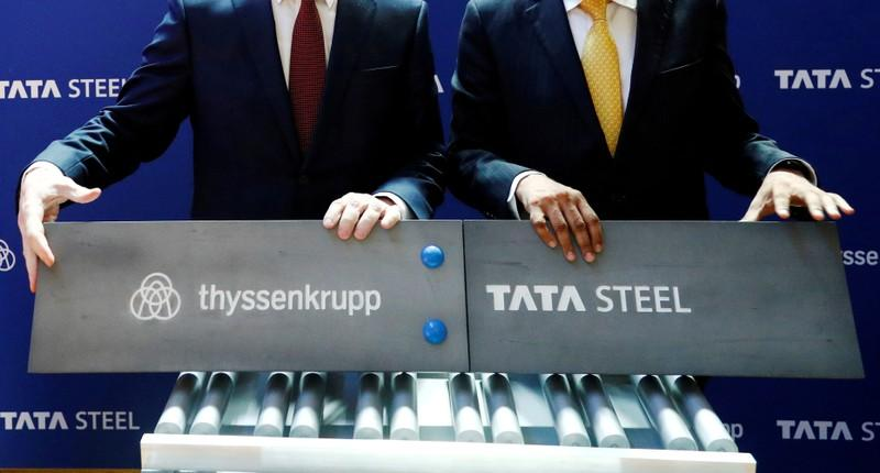 Thyssenkrupp, Tata Steel near decision on steel JV board: sources