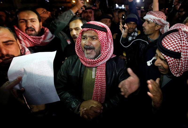 Jordanians stage new anti-austerity protests
