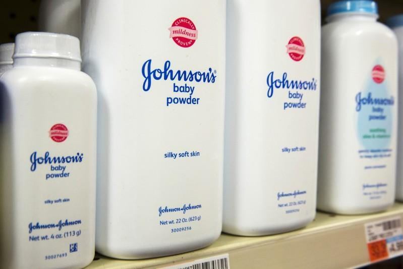 JJ shares extend losses company defends Baby Powder as safe