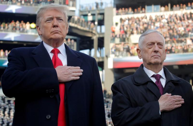 Pentagon chief Mattis quits after clashing with Trump on policies