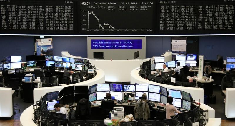 Global Markets World stock markets struggle to finish strong after wild week