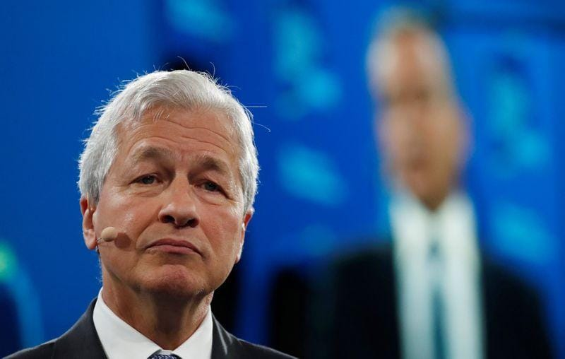 JPMorgans Dimon says endorses new trade deal tackles central bank measures