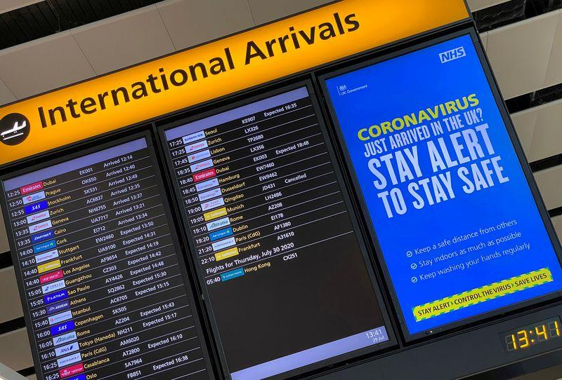 Air transport in turmoil as flights from UK banned